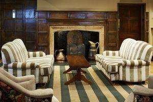 Cromwell hotel fireplace