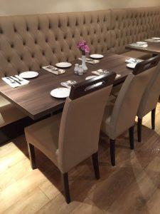 Cardamom bespoke furniture-fixed seating