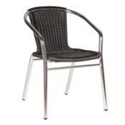 Aluminium Weave Arrm Chair