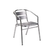 Aluminium arm chair