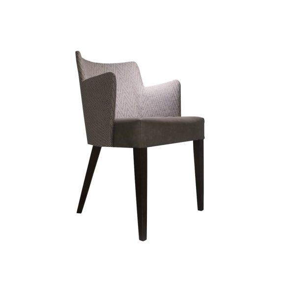 fabric armchair