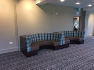 Bramhall Golf Club Banquette Seating