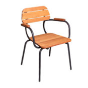 Bay Outdoor Stacking Armchair