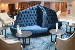 Bespoke DoubleTree Banquette Seating
