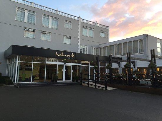 Hallmark Hotel entrance