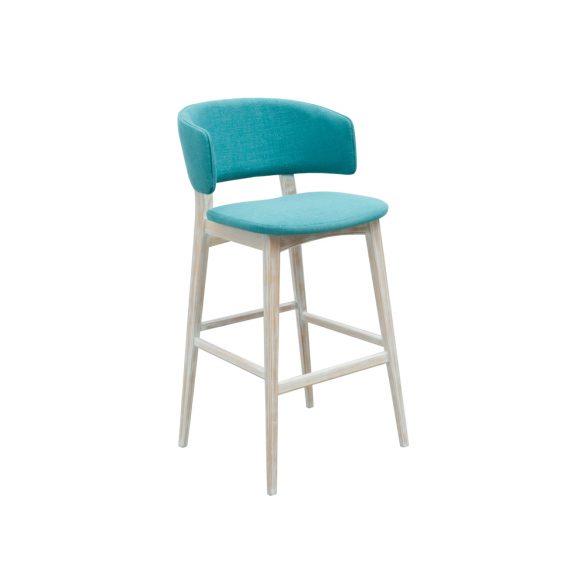 Sophia fully upholstered bar stool