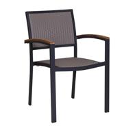 Villa Weave outdoor armchair