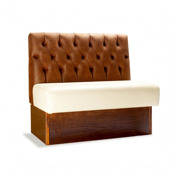 Buttoned Back Banquette Seating