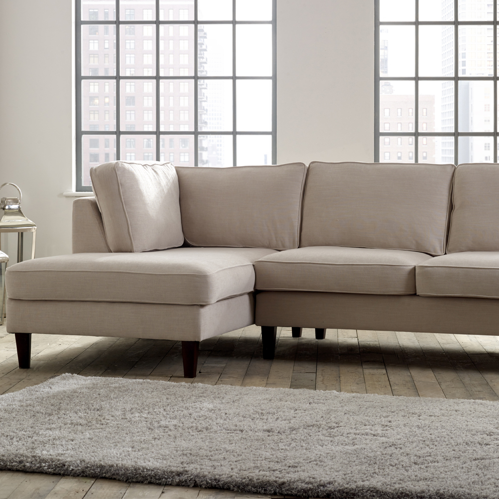 Chaise unit 3 seater sofa forest contract for 3 seater lounge with chaise