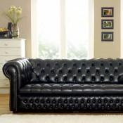 Clarendon Buttoned Seat Sofa