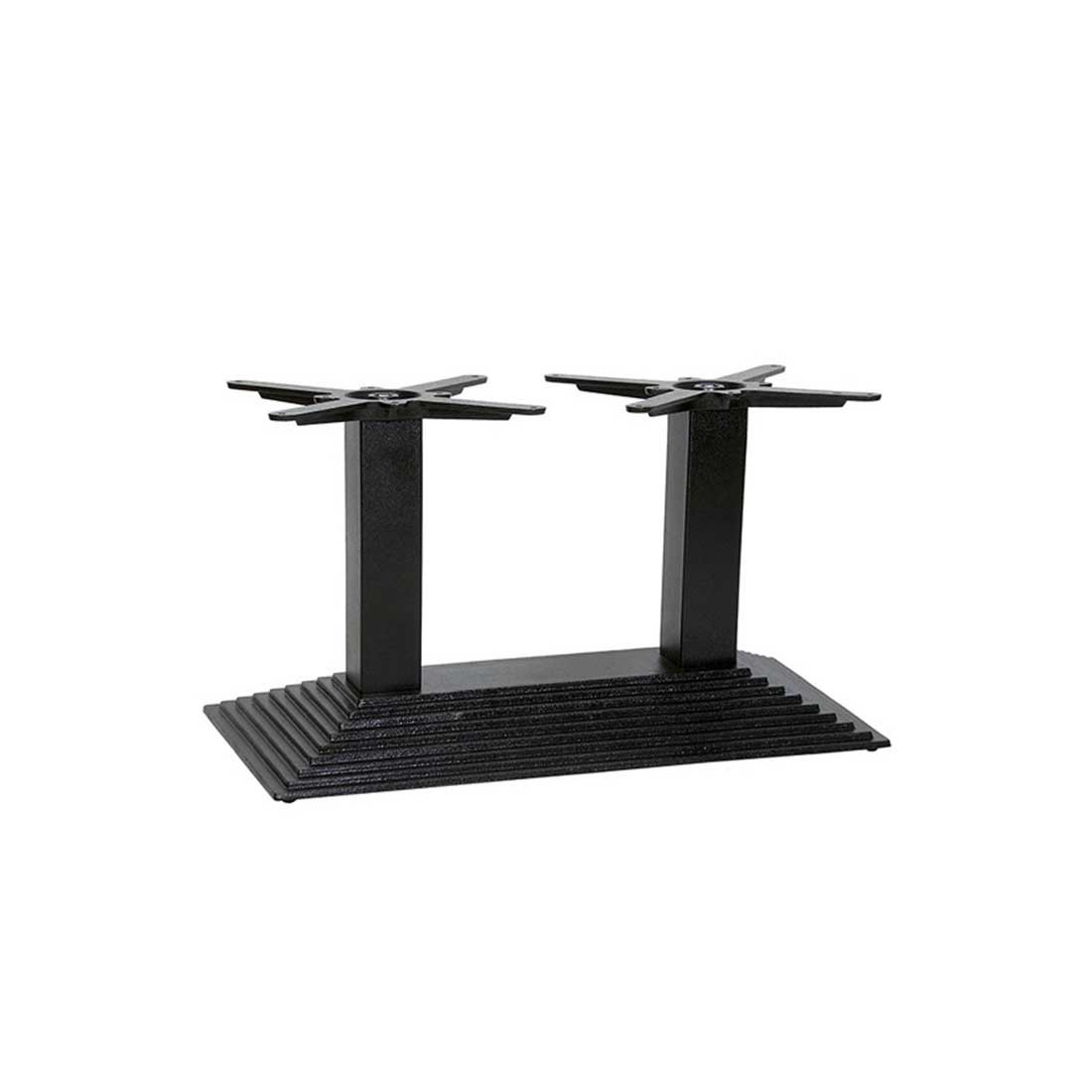 Denton Coffee Twin Pedestal Table Base