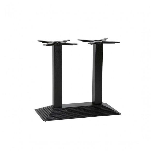 Denton Dining Twin Pedestal Table Base