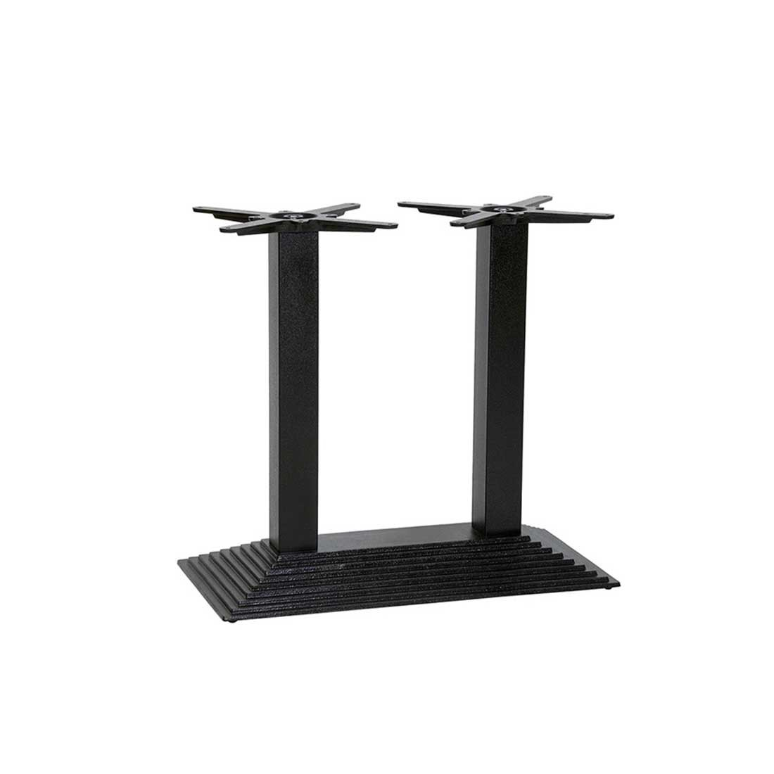 Furniture bar table bases denton dining twin pedestal table base