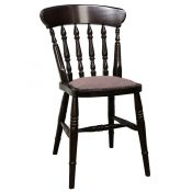 Farmhouse Upholstered Side Chair