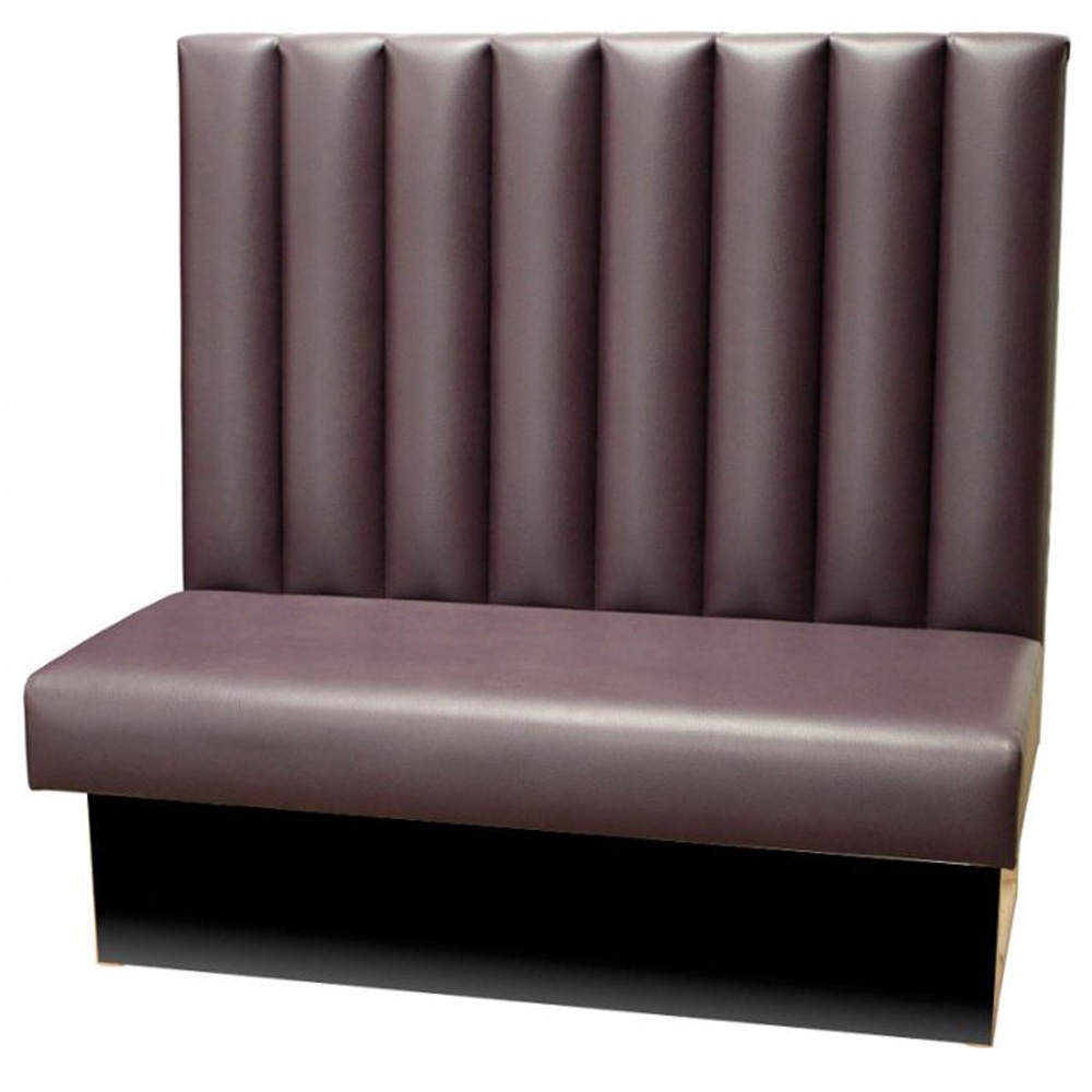 Fluted Back Banquette Seating Forest Contract