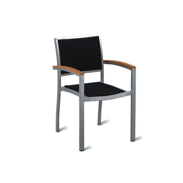 geneva weave arm chair