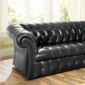 Gladstone Button Seat Sofa