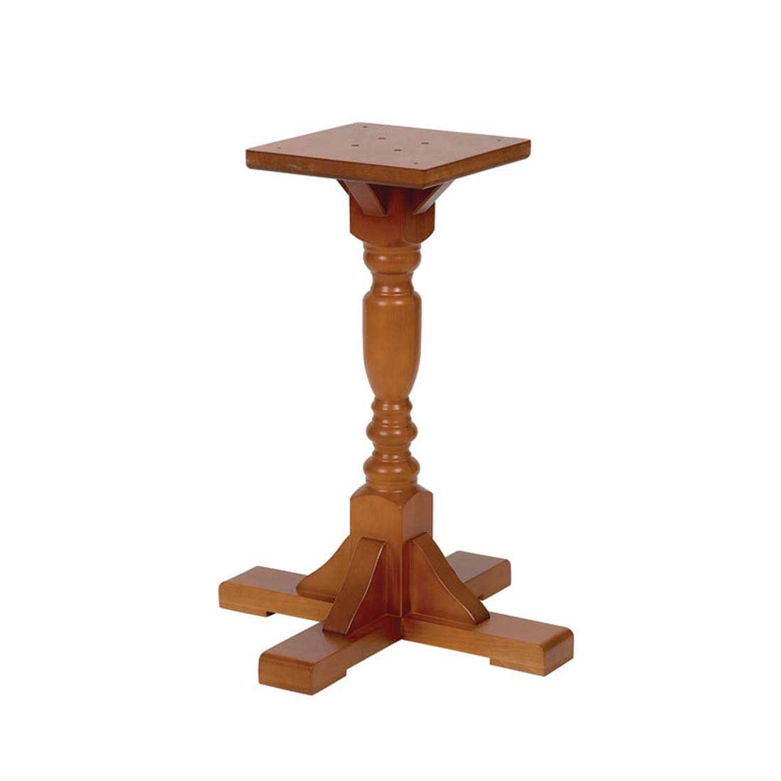 Harley Single Pedestal Table Base Forest Contract