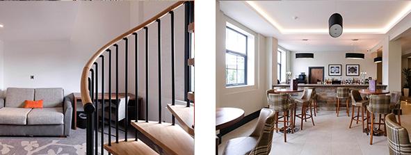 Ainscow Hotel Interior Design