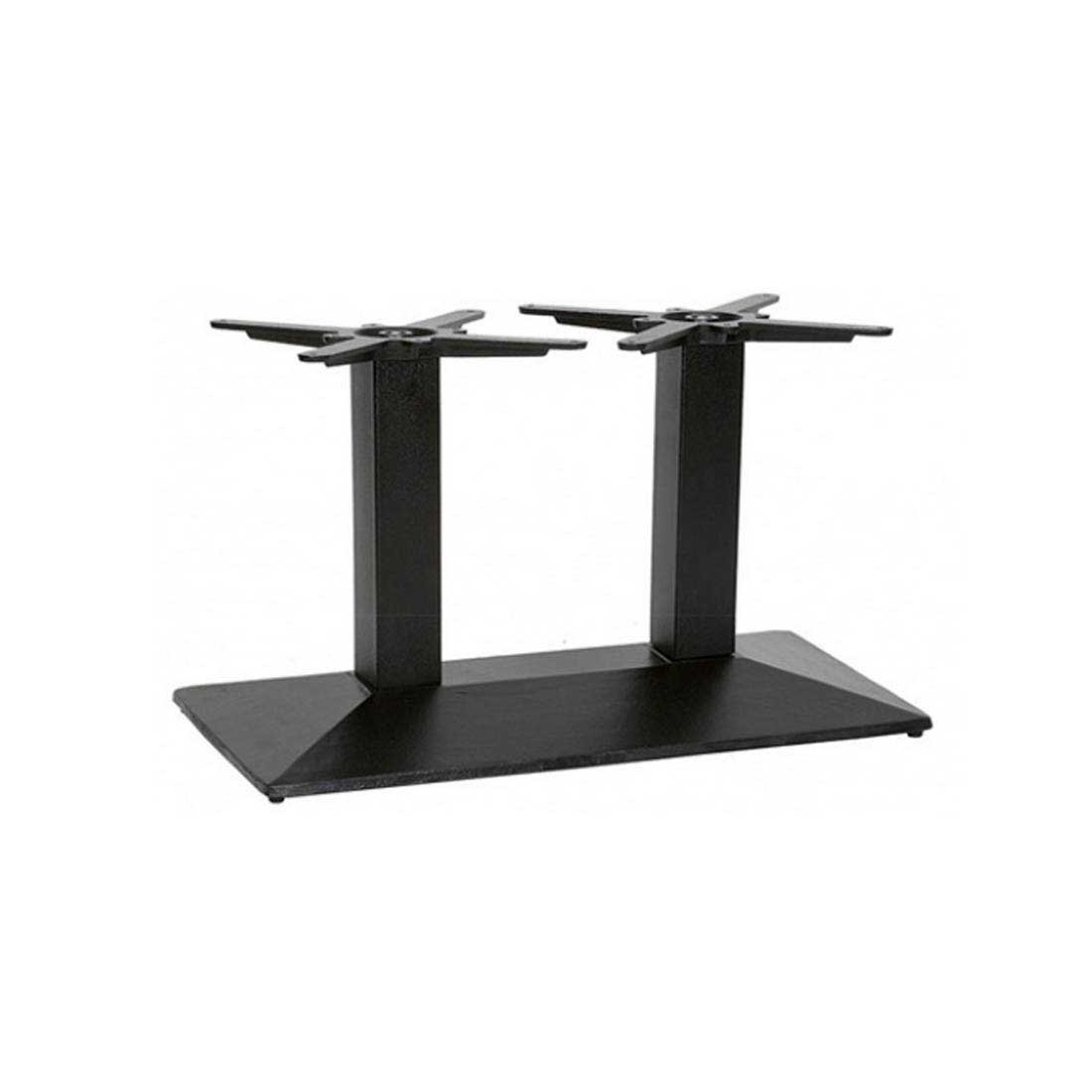 Newton Twin Pedestal Coffee Table Base Forest Contract
