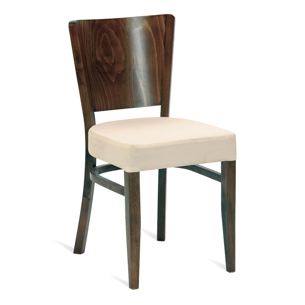 Oregon Veneer Upholstered Side Chair Forest Contract