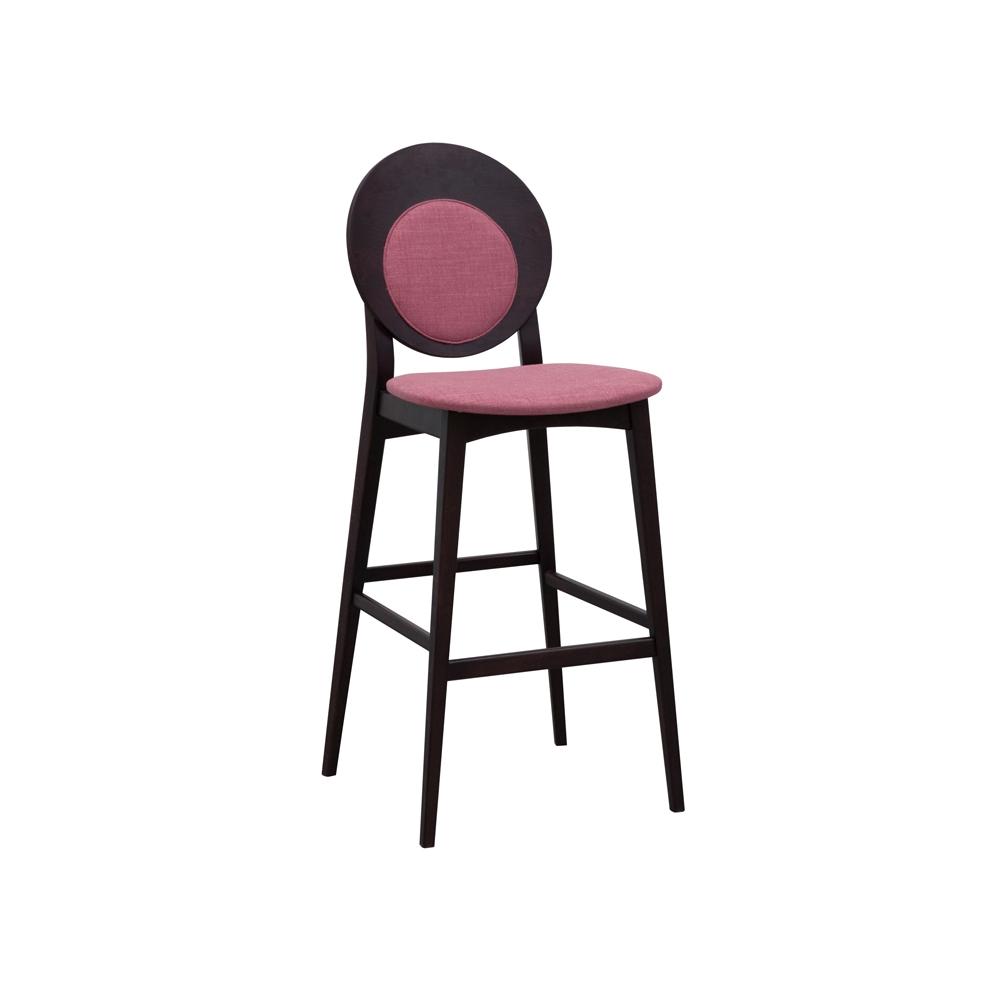 Pleasant Rosa Round Back Bar Stool Dailytribune Chair Design For Home Dailytribuneorg