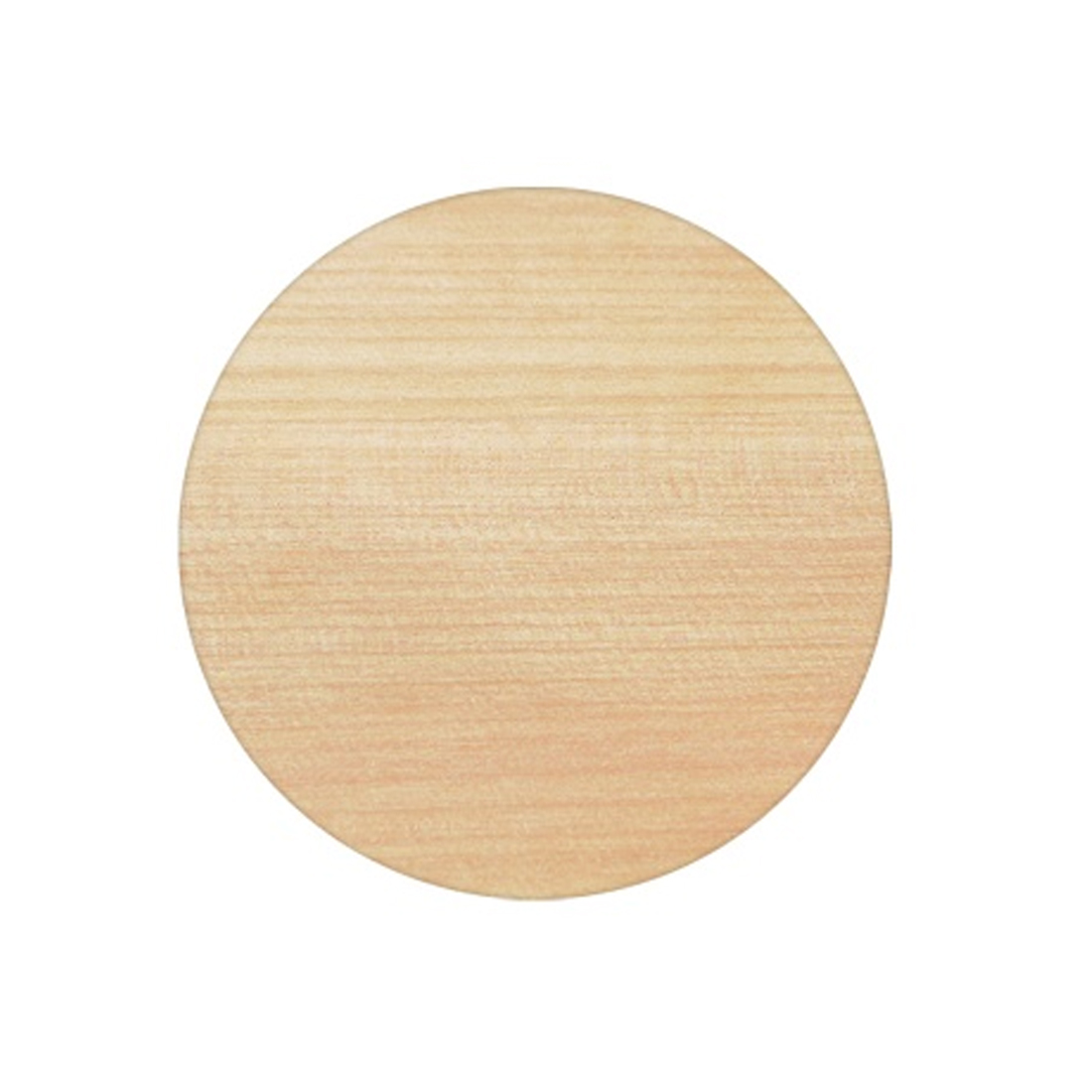 Solid Ash 800mm Round Table Top