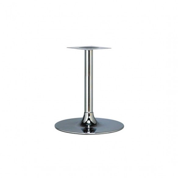 Trumpet Chrome Dining Table Base