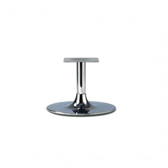 Trumpet Medium Chrome Coffee Table Base