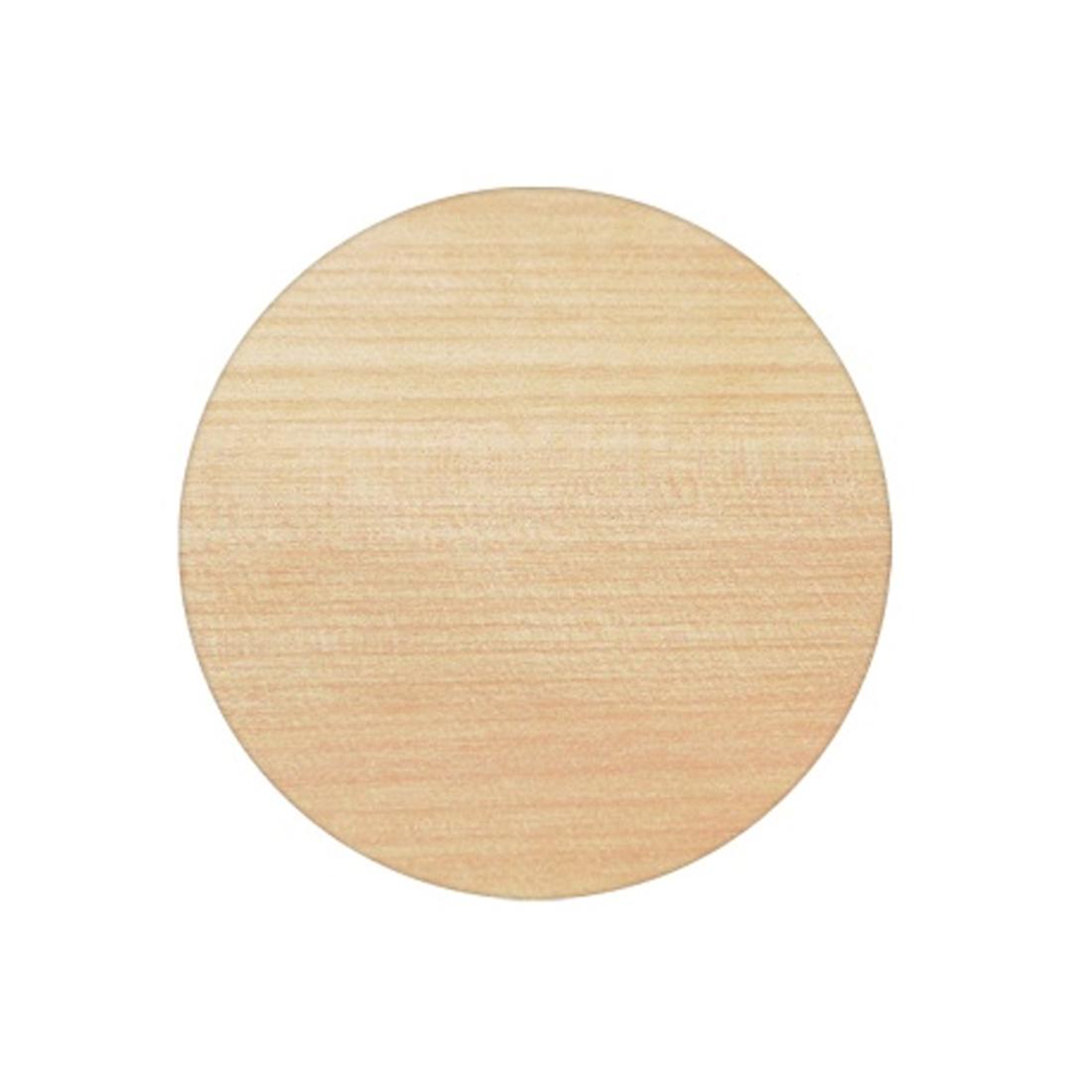 Ash Veneer 700mm Round Table Top
