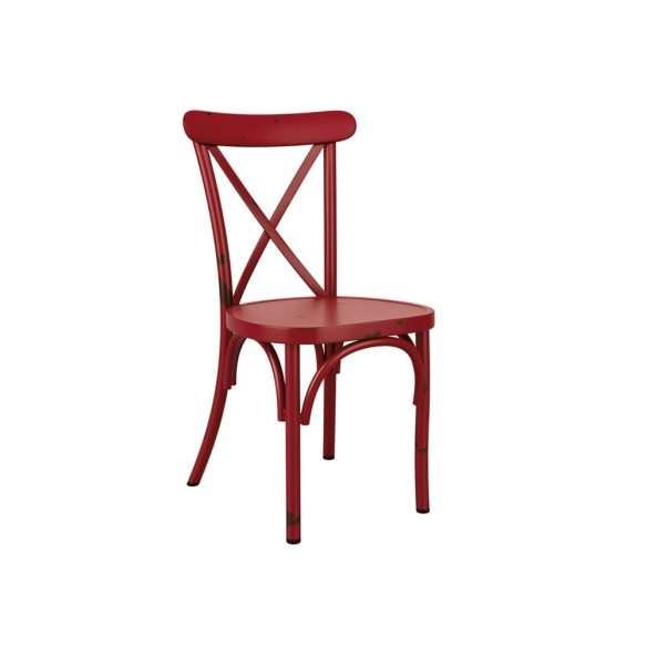 Victoria Aluminium Side Chair