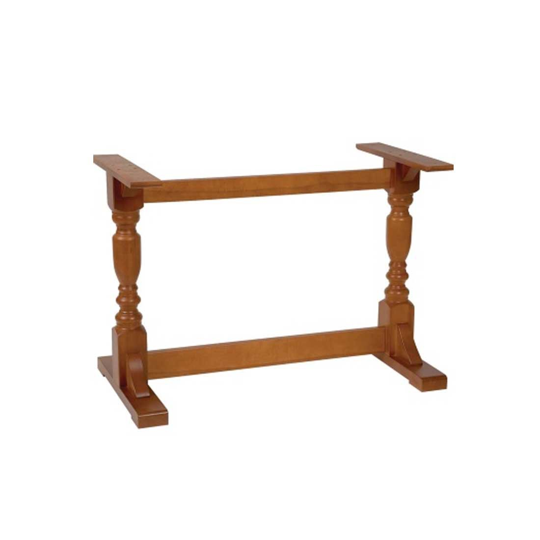Washington Twin Pedestal Table Base Forest Contract