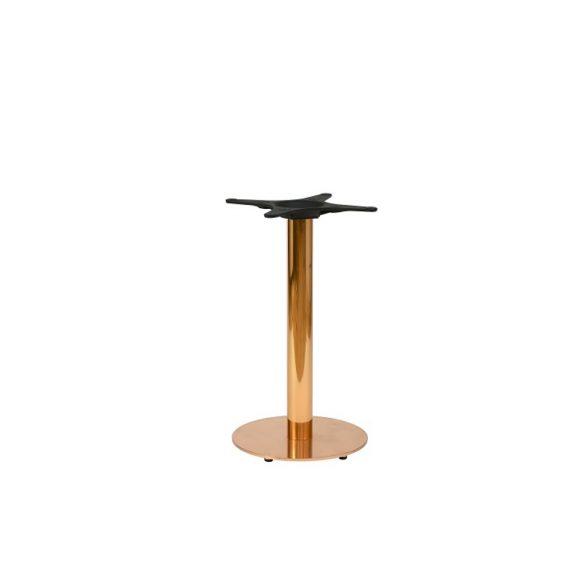 Zeta Round Copper Dining Table Base